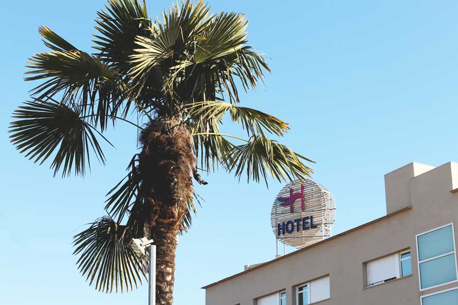 palmeras hotel h granollers