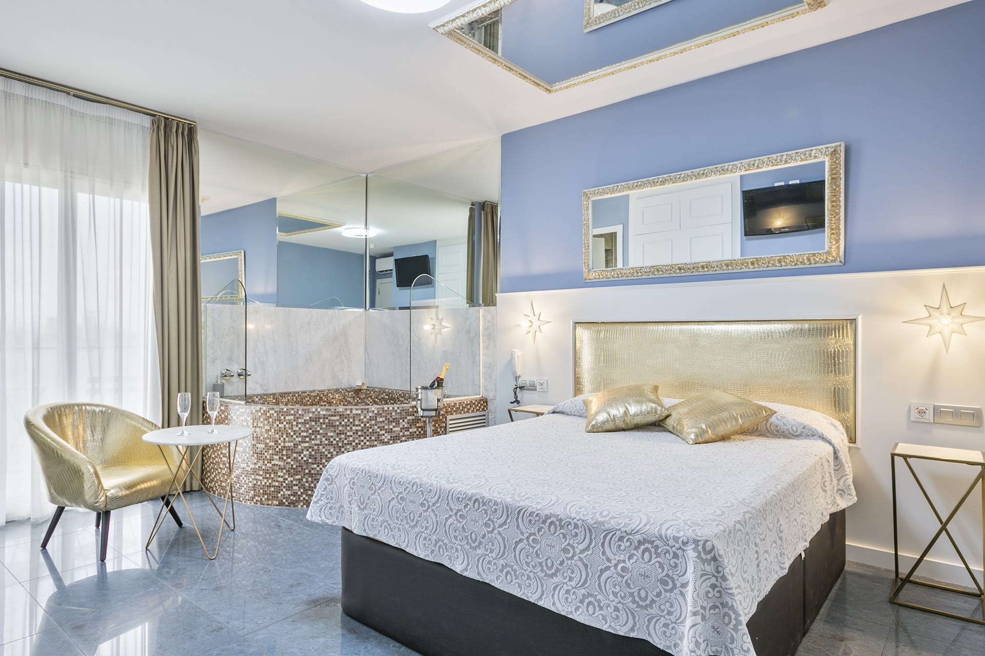 Suite con jacuzzi Hotel Granollers